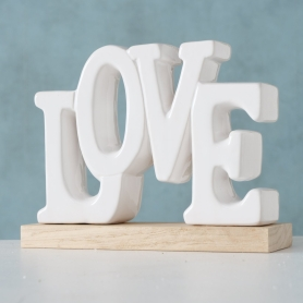 MILAN Decorative object, LOVE